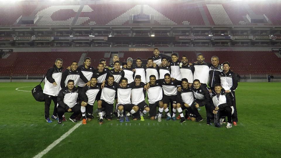 Olimpia realizó el reconocimiento del Estadio Libertadores de América