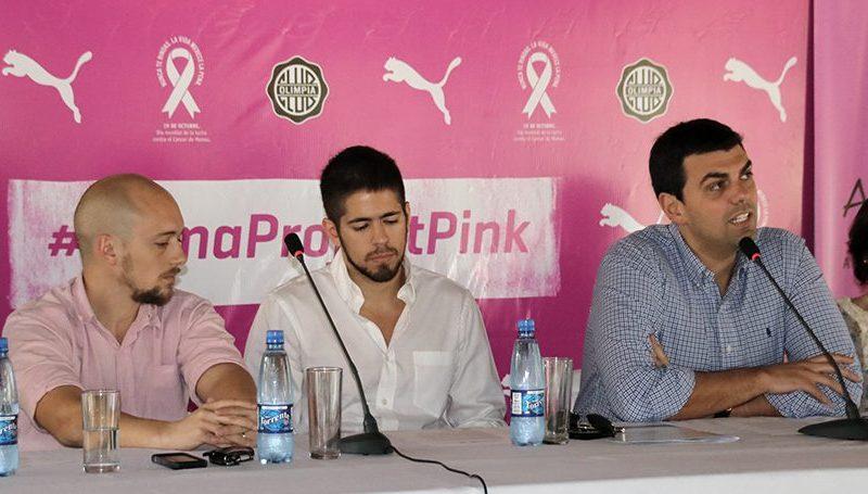El Club Olimpia y Puma se suman a la causa de AMACMA