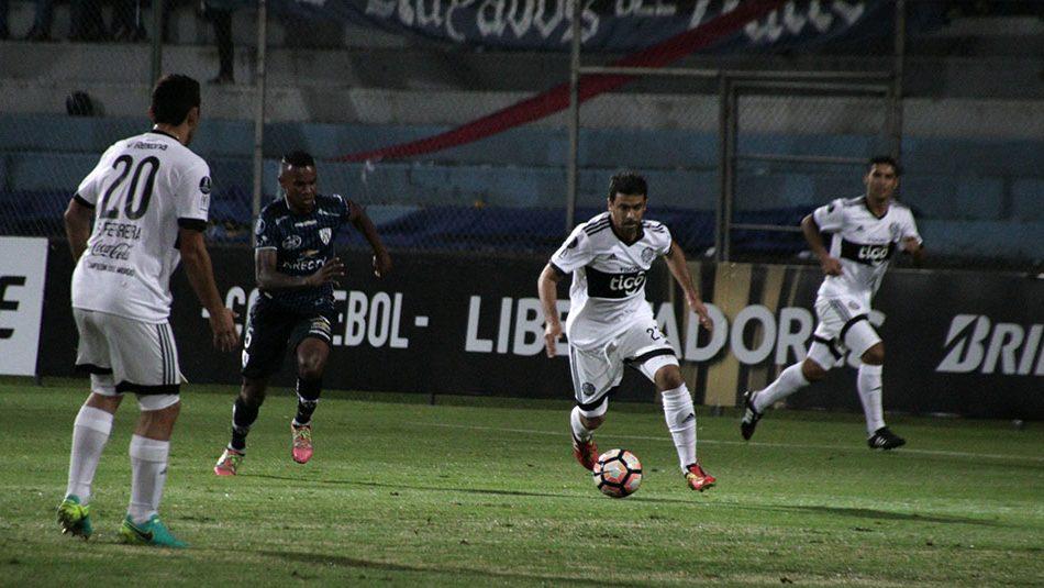 Olimpia cayó ante Independiente del Valle en Quito