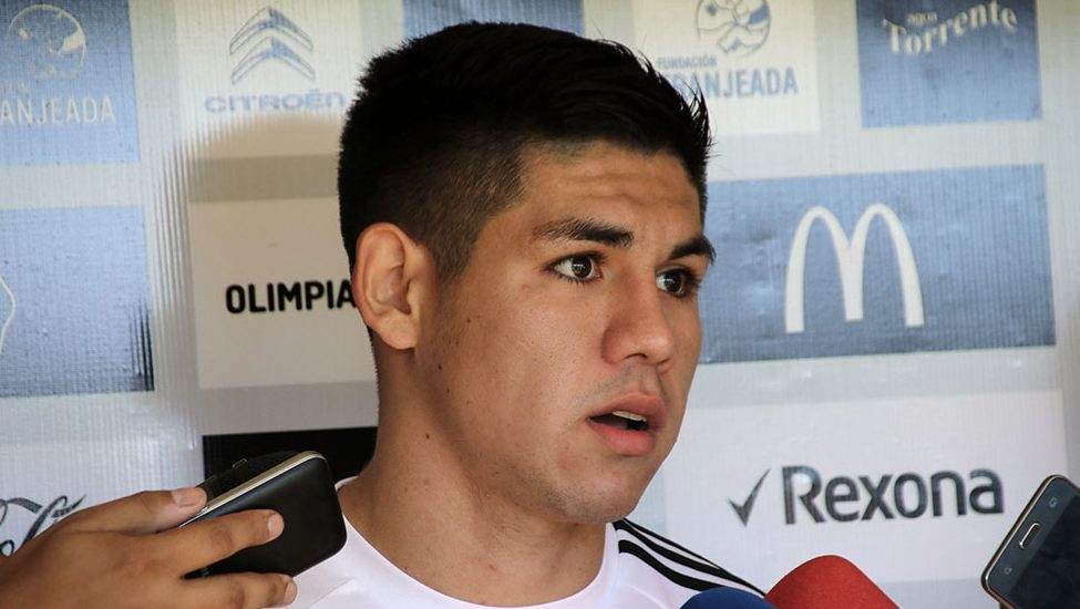 """S.Salcedo """"Pensamos en el partido del jueves, que tenemos que clasificar y nada más."""""""